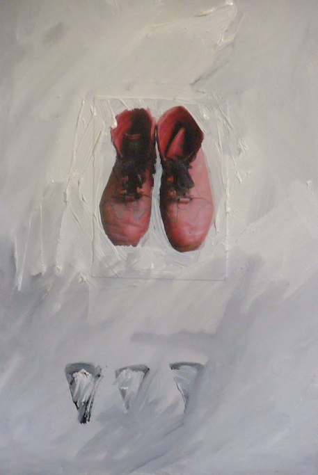 RED BOOTS PAINTING